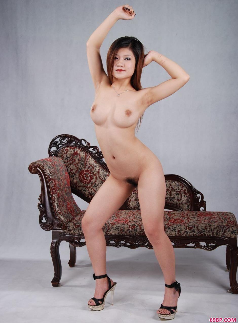 古典美人安悦室拍丰润人体
